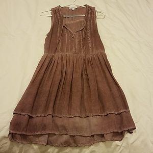 Old rose modal dress
